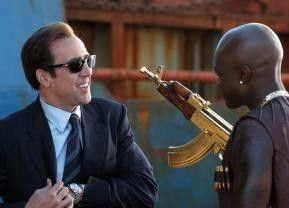 Das ist doch ein hübscher Ballermann! Nicolas Cage als Waffenhändler