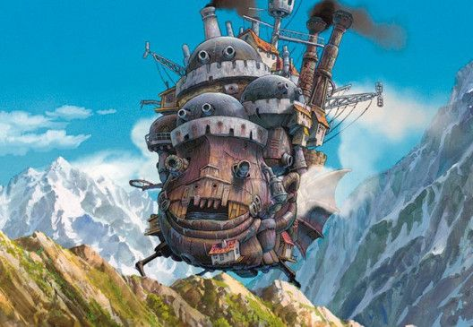 Unterwegs: das wandelnde Schloss
