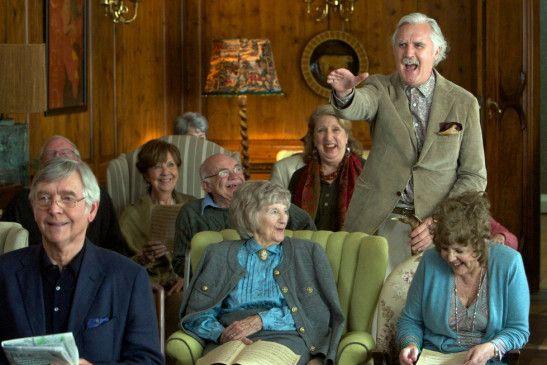 Spaß im Altenheim: Billy Connolly macht Witze