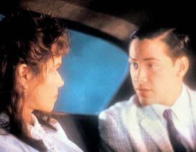 Aber ich liebe dich wirklich, Tante! Keanu Reeves  und Barbara Hershey