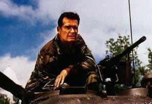 Kuckuck, ich bin's! James Garner im Tank