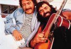 Jetzt zupf' mal einen flotten Darm! Dustin Hoffman (l.) mit Musik-Kumpane