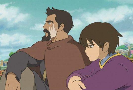 Zauberer Ged (l.) und Prinz Arren wollen Erdsee retten