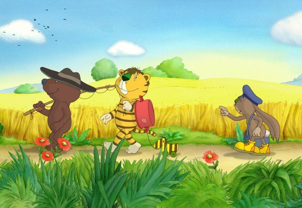 Post für Bär und Tiger!