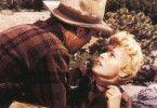 Der Hut bleibt an! James Stewart und Janet Leigh