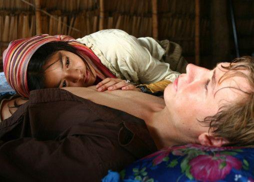 Entspannung pur? David Kross und Apinya Sakuljaroensuk
