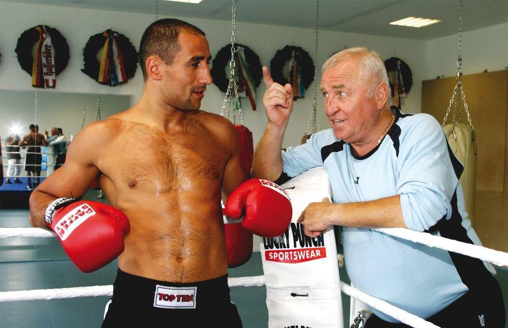 Der Boxer und sein Trainer: Arthur Abraham und Ulli Wegner