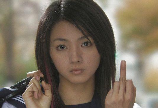 Eindeutige Geste: Yoko (Hikari Mitsushima) setzt Zeichen