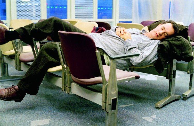 Tom Hanks in der Rolle des Flughafen-Bewohners Viktor Navorski