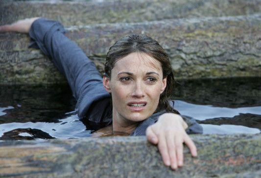 Sharon Myers (Sarah Parish) kämpft um ihr Leben