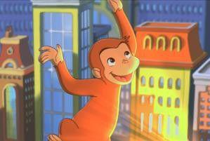 Immer auf Abenteuer aus: der lustige Affe