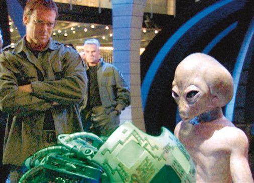 Das Stargate-Team erhält Hilfe von dem außerirdischen Thor