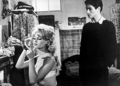 Ist sie eine Mörderin? Brigitte Bardot mit Sami Frey