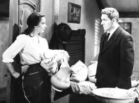 Wer will hier dreckige Wäsche waschen? Spencer Tracy und Signe Hasso