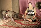 Schwein gehabt: Sasson Gabay als Jafaar