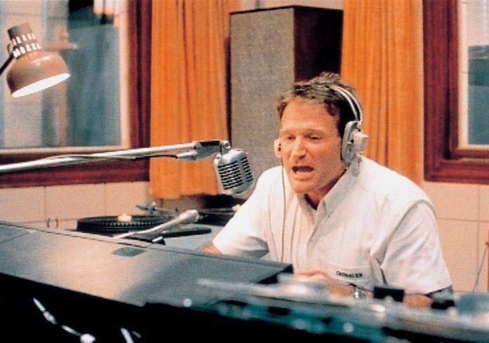 Cronauers Humor gefällt seinen Vorgesetzten nicht:  Robin Williams in einer seiner besten Rollen