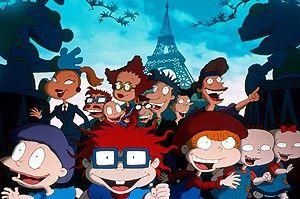 Jetzt kann das Chaos ja los gehen! Die Rugrats in  Paris