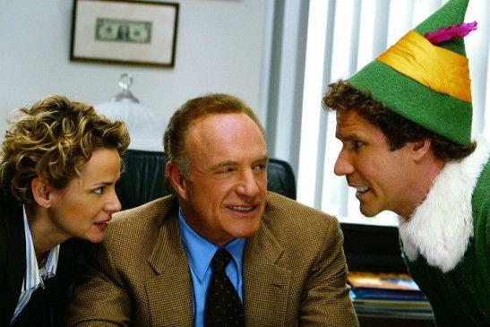 Ich bin's, Buddy! Will Ferrell (r.) mit Amy Seradis und James Caan