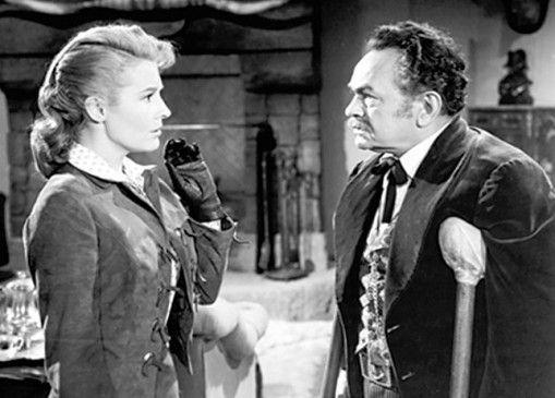 Martha will mich hereinlegen! Edward G. Robinson mit Dianne Foster