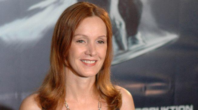 Die erotischste Frau des deutschen Films? Da kann Katja Flint nur lächeln.