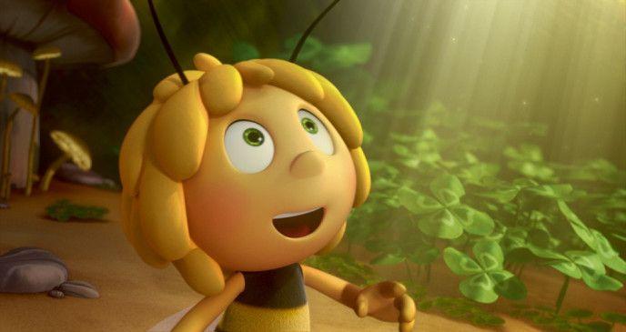 Begeisterungsfähig: Biene Maja.