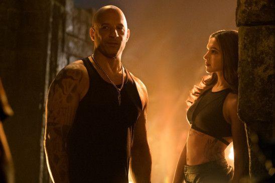 Vin Diesel als Xander Cage und Deepika Padukone als Serena Unger.