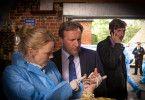 Inspector Barnaby (Neil Dudgeon, Mitte.) ist in fünf neuen Folgen der ZDF-Krimireihe gefordert.