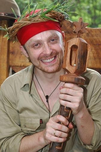 Ross Antony übernahm stolz das Zepter in der dritten Staffel des Dschungelcamps (2008).