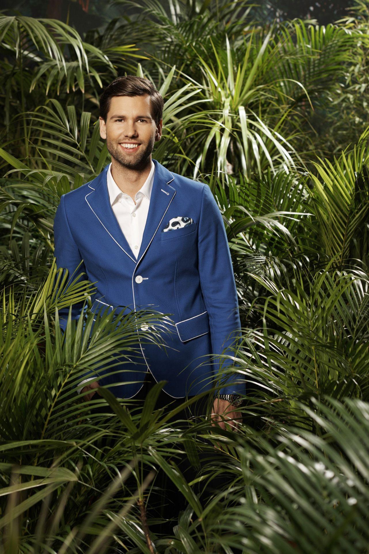 """Alexander Keen, auch """"Honey"""" genannt, arbeitet als Model und könnte sich einen Dschungel-Flirt vorstellen: """"Das Flirten liegt mir im Blut."""""""