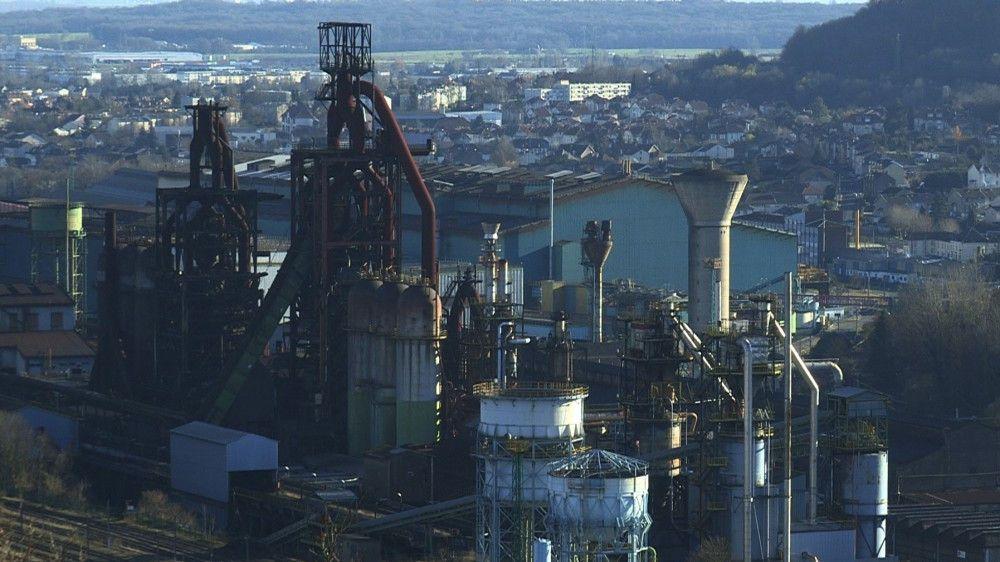 Stahlwerk des Arcelor-Mittal-Konzerns in Europa