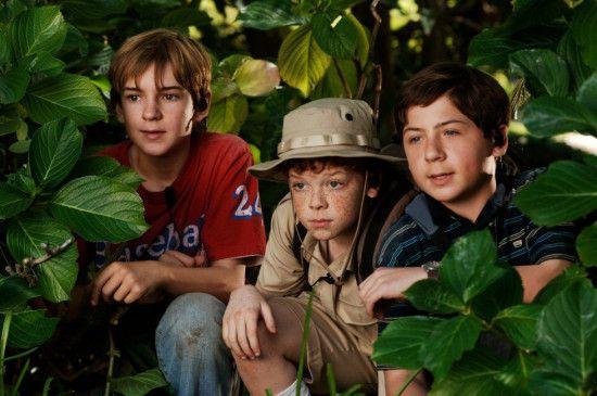 Freunde in jeder Lage: Nick Price, Cameron Monaghan und Chancelor Miller (v.l.)