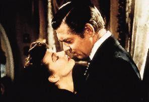 Küss mich! Clark Gable und Vivien Leigh.