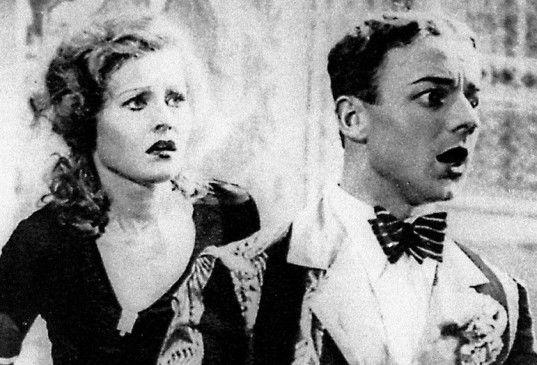 Ist das ein Einbrecher? Lilian Harvey und Heinz Rühmann