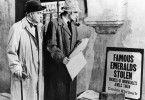 Ein neuer Fall? Sherlock Holmes (Basil Rathbone, r.) und Dr. Watson (Nigel Bruce)
