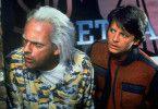 Ach du Schreck! So geht's zurück in die Zukunft. Christopher Lloyd (l.) und Michael J. Fox