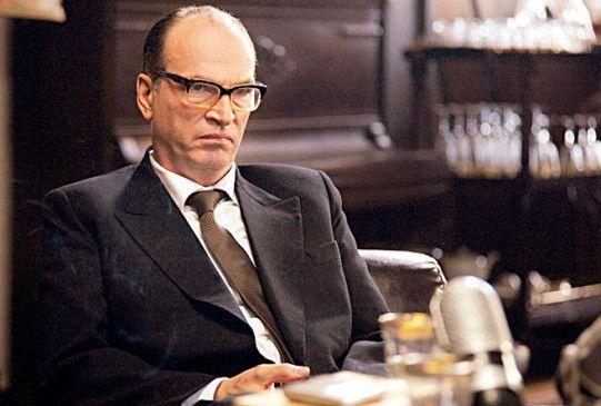 Herbert Knaup in der Rolle des Kriegsverbrechers Adolf Eichmann