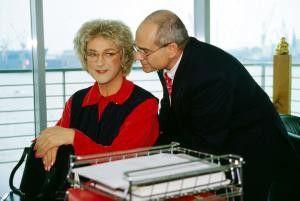 In Frauenkleidern Karriere als Chefsekretärin: Helmut Zierl