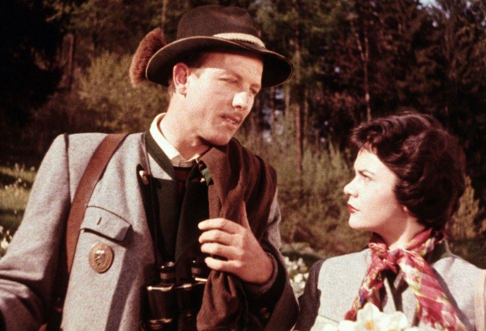 Werden sie ein Paar? Hubert (Rudolf Lenz) und Liesl (Anita Gutwell)
