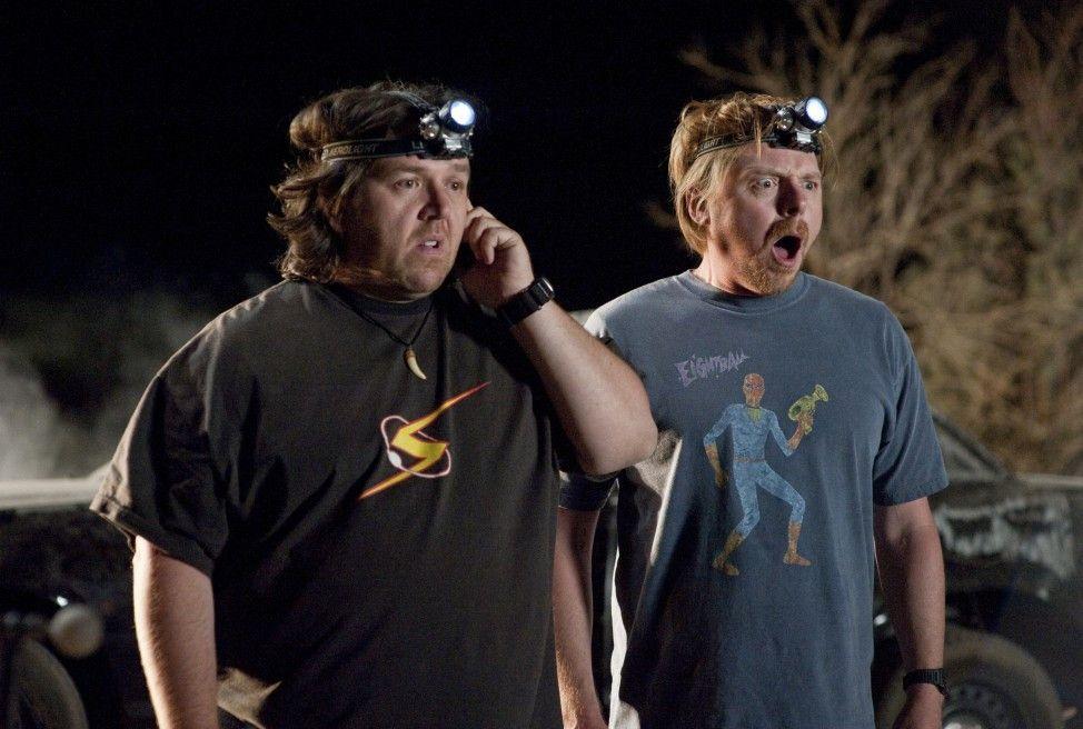 Entdecken einen Außerirdischen: Nick Frost (l.) und Simon Pegg.