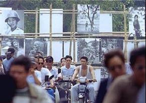 Thomas Billhardts Bilder im Zentrum des heutigen Hanois