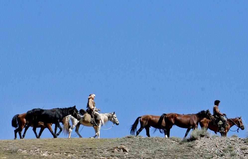 Auf der Flucht durch die unendlichen Weiten  Kasachstans