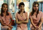Wir sind die drei Grazien vom Schönheitssalon!  Nathalie Baye, Audrey Tautou und Mathilde Seigner (v.l.)