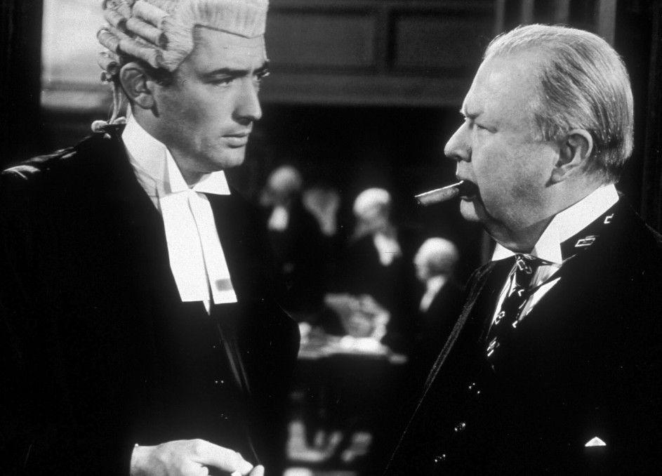 Sieht so ein britischer Strafverteidiger aus? Gregory Peck (l.) mit Charles Coburn