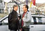 Ach, komm, lass mich doch mal fahren! Martin Lindow und Oliver Stritzel als Polizei-Duo