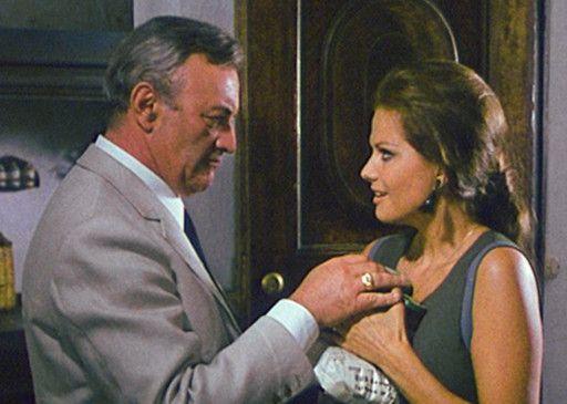 Ich bin hier der Boss! Lee J. Cobb und Claudia Cardinale