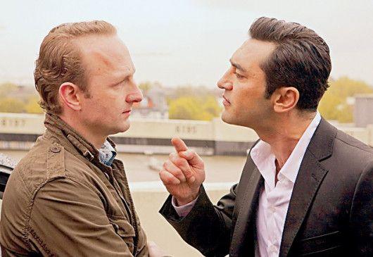 Ich werde weiter ermitteln! Mehmet Kurtulus (r.) mit Peter Jordan