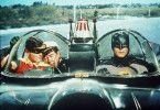 Auf zu neuen Abenteuern! Batman (Adam West, r.) und Robin (Burt Ward, l.)