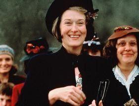 Eigentlich ist es doch ganz nett hier!  Meryl  Streep