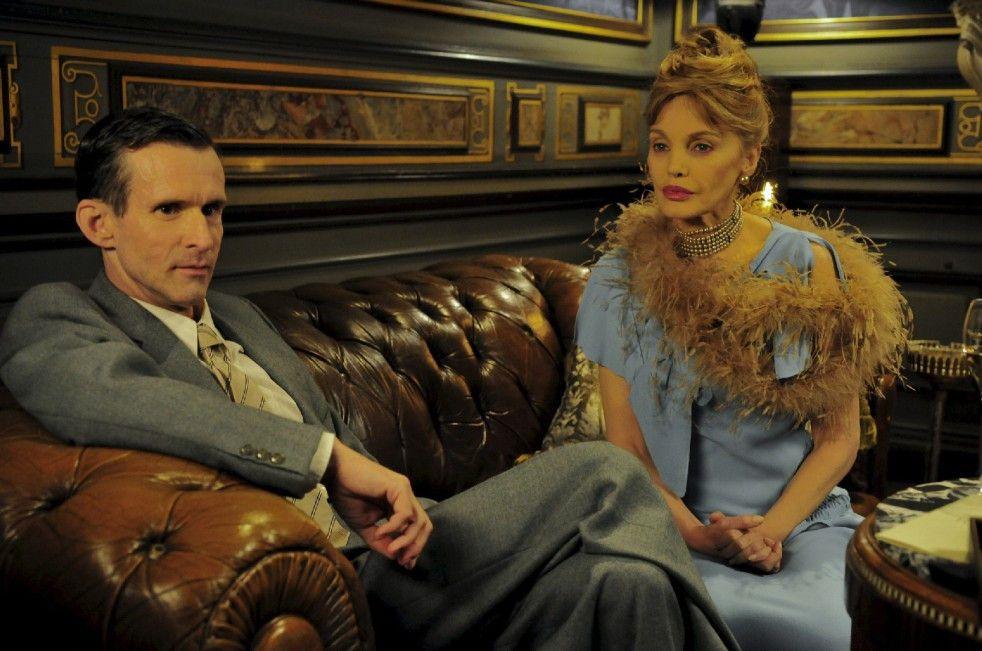 Leben wie Gott in Frankreich? Ernst Jünger (Ulrich Matthes) und seine französische Freundin (Arielle Dombasle)