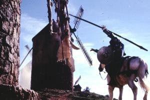 Ich mach' dich fertig, du Monster! - Don Quijote in  Aktion